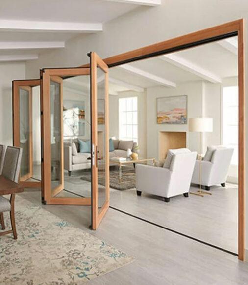 Folding Doors in Burbank, Pacific Palisades, Pasadena, Sherman Oaks, Studio City